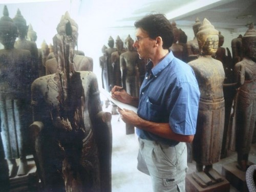 1999 - Angkor conservation - Photo from his Facebook page